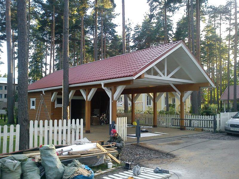 Профилированный брус и деревянные дома